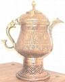 COPPER / SILVERWARE SAMOVAR(TEA POT)