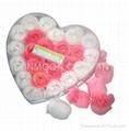 Scented soap flower/ flower soap in