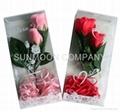Rose Soap flower/ flower soap with stem