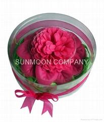 太陽花形香皂花