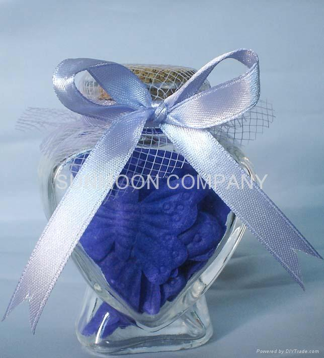 Scented soap leaves/Soap petals in bottle 3