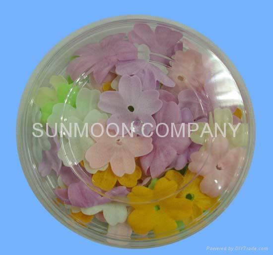 Scented soap leaves/Soap petals in bottle 4