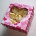 Scented Soap flower/ paper soap in hardboard gift box 2