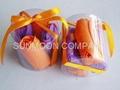 Tulip soap flower in PVC case 4