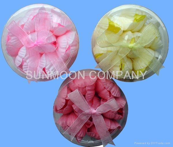 Tulip soap flower in PVC case 5