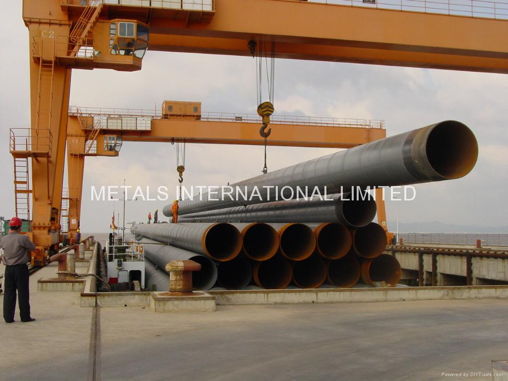 API 5L,ASTM A252,AS 1579,ISO 3183-Spiral (Submerged-Arc) Welded Steel Pipe