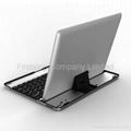 FS00147 Vostrostone Super Slim Aluminum Bluetooth Keyboard Case for Apple iPad3