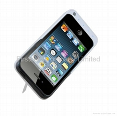 FS09346 3200mah External Battery Charger Stand Case Back Protector for iPhone 5