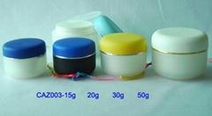 cosmetic cream jar
