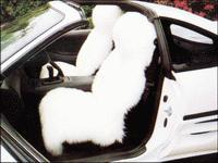 澳大利亞羊毛皮汽車座墊