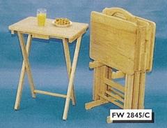 BBQ (TV) Folding Tray Table Set