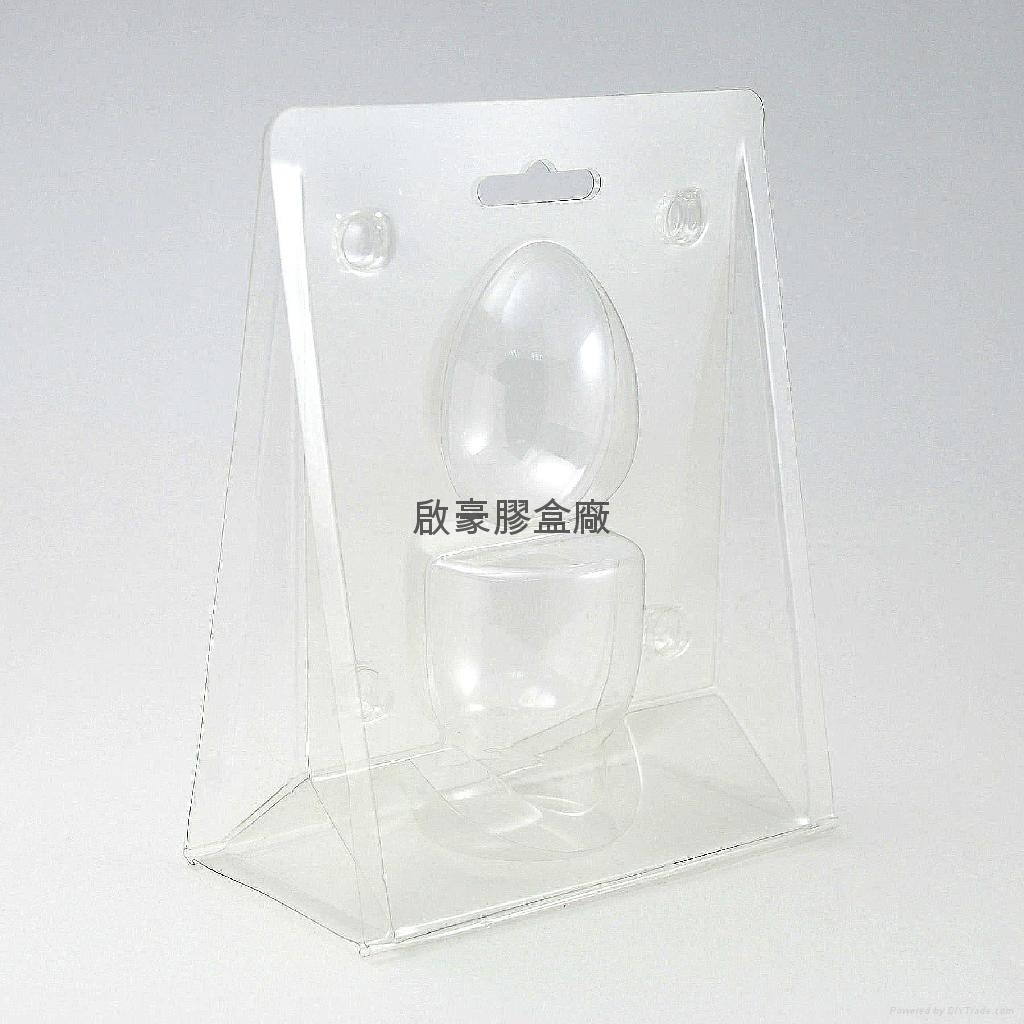 Pet Plastic Set Up Box With Blister Tray Chocolate Tray