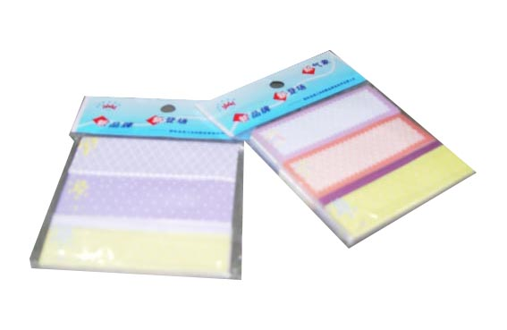 Self adhesive note pad flag post it note stick notes notes