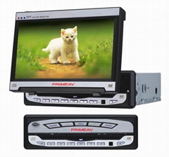 1 DIN 7-Inch Car in-dash TFT LCD+TV+DVD Player+Radio+Amplifier all-in-one-unit