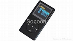 MP3 Player with rechargeable battery