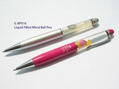 Liquid Filled Metal Ball Pen