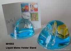 Liquid Memo Holder Stand