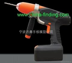 电动工具CNC手板,手板模型,快速成型,CNC手板