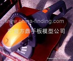 角磨机CNC手板,快速成型, 手板模型