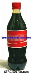 Bottle Type Audio Transmitter
