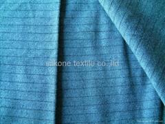 wool/acrylic strip