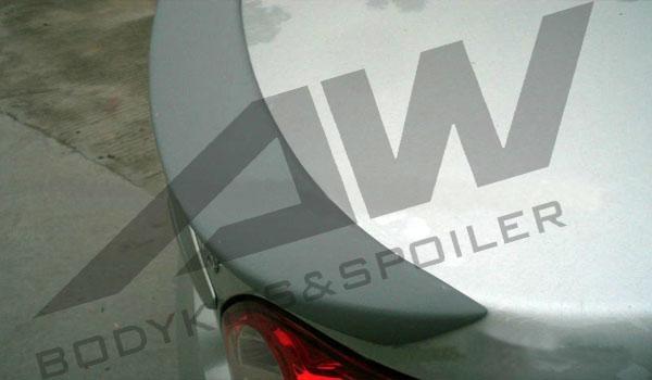 朗逸 PU尾翼08 11年 AW VW LA SP 08 AW 汽车装潢外饰用品 汽车用高清图片