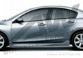 Mazda 3 XINGCHENG PU side skirts