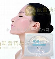 Crystal facial mask