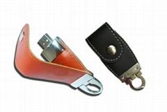 Leather USB Flash Drive (ZC-UF503)