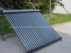split pressure heat pipe solar collector