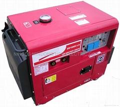 单相静音型电焊发电机