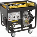 Brushless Diesel Engine DC ARC Welder & Generator