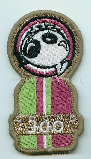 刺绣章、奖章、徽章、实名章、保安臂章 1