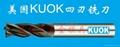 美國KUOK鎢鋼塗層銑刀 3