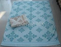 100% cotton towel blanket