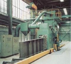 钢板、型材预处理用通过式抛丸机 Q69系列