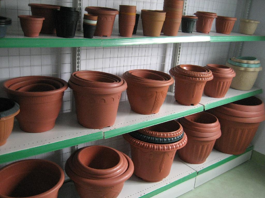 plastic injection flower pots moulds  3