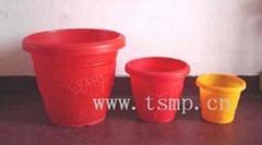 塑料花缸模具