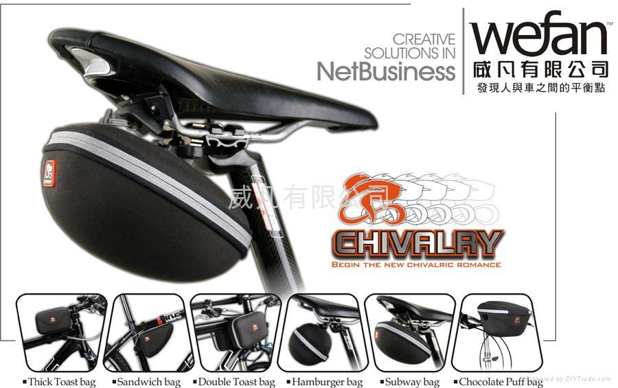 CHIVALRY Bike Bag 1