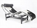 Le corbusier chainse lounge LC4 in