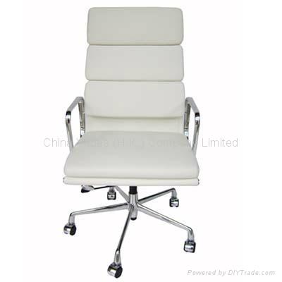 Eames铝合金真皮办公椅 2