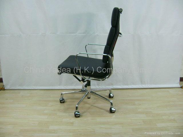 Eames铝合金真皮办公椅 4