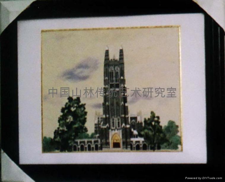 刺繡:德國科隆教堂 1