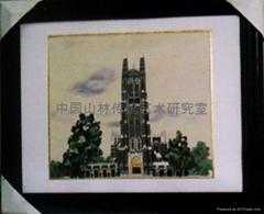 刺繡:德國科隆教堂