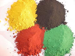 Iron oxide red/yellow/green/brown