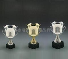 金屬組合獎杯