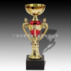 彩色金屬獎杯