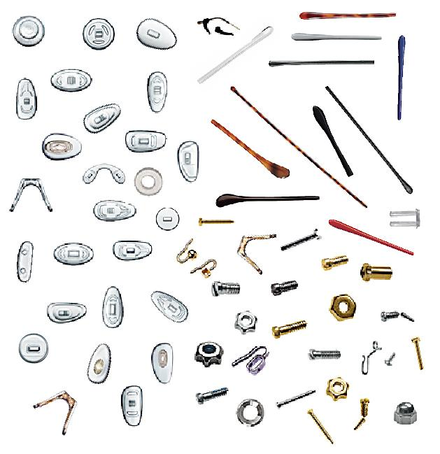 PARTS FOR EYE GLASS FRAME