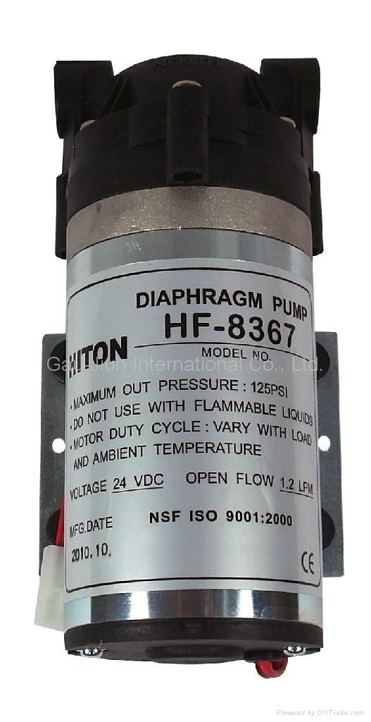 Hiton Booster Pump For Ro 50 75gpd Hf 8367 Taiwan