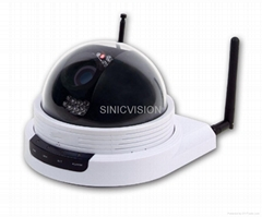 2.0 Megapixel IP Dome Camera